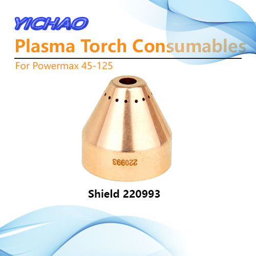 Shield Cap 220993 Plasma Cutting Cutter Torch Consumables For Powermax45-125