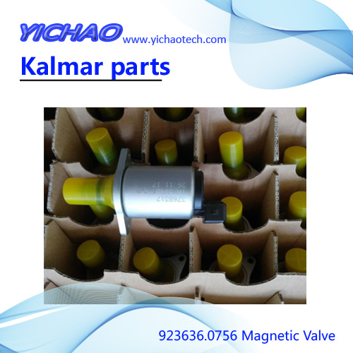 Container reach stacker spare parts magnetic valve