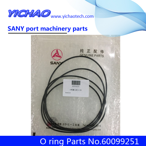 Sany Port Empty Container Handling Machinery Reach Stacker Spare Parts