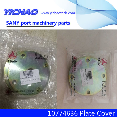 Sany port machinery spare parts No.10774636 Plate Cover