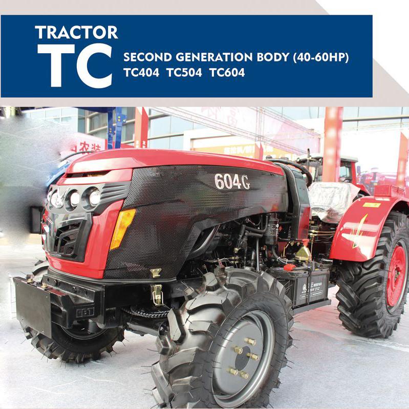 TC404/TC504/TC604 tractor