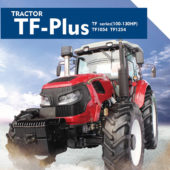 TF series(100-130HP) TF1054/TF1254 tractor