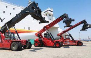 Original Good Quality Kalmar Forklift Spare Parts Parker Hydraulic Pump PAVC100B32L426C3AP22