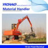 18 ton fixed material handler