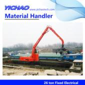 26ton fixed material handler