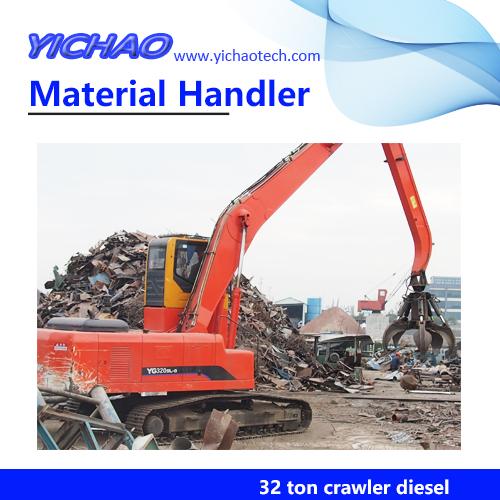 32 ton Crawler Diesel Hydraulic Metal Scrap Grapple YGSZ320
