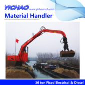 36 ton Fixed Double Power Material Hander