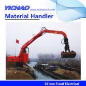 36ton fixed material handler