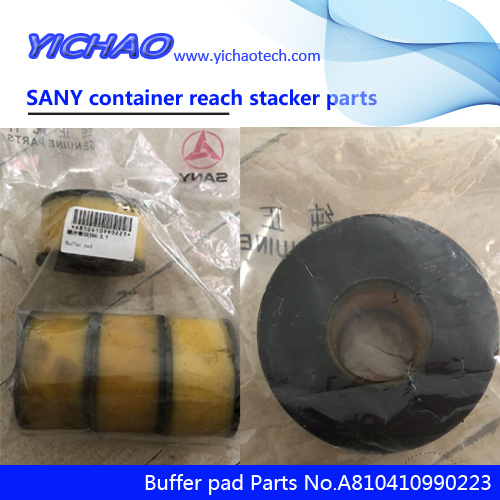 Sany container reach stacker parts buffer pads A810410990223