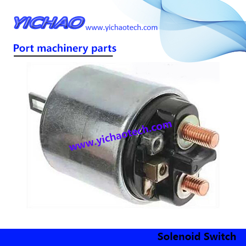 OEM SANY Port Machinery Spare Parts Solenoid Switch