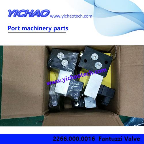 Original Port Machinery Spare Part Valve 2266.000.0016