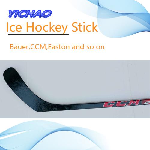 100% Carbon Fiber Design Free League Durable Bauer Ice Hockey Stick
