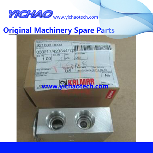 Aftermarket container port machinery Reach Stacker Harbor Machinery Spare Part Expansion Valve 921083.0003