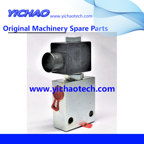 Original Dce80 Forklift Spare Part Hand Brake Solenoid Valve 922143.0017