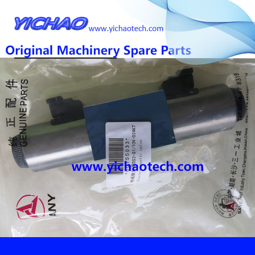 Original Sany Reach Stacker Spare Part Solenoid Reversing Valve 60155033