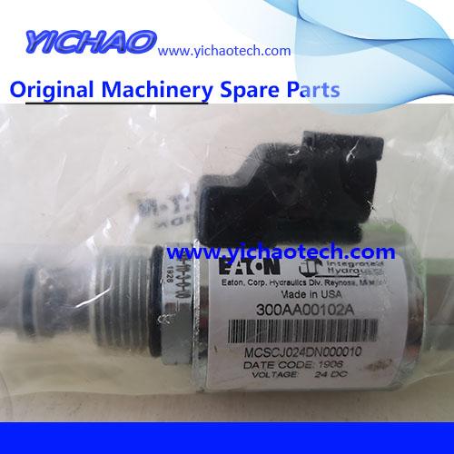 Genuine Sany Reach Stacker Spare Part Solenoid Valve 60338457