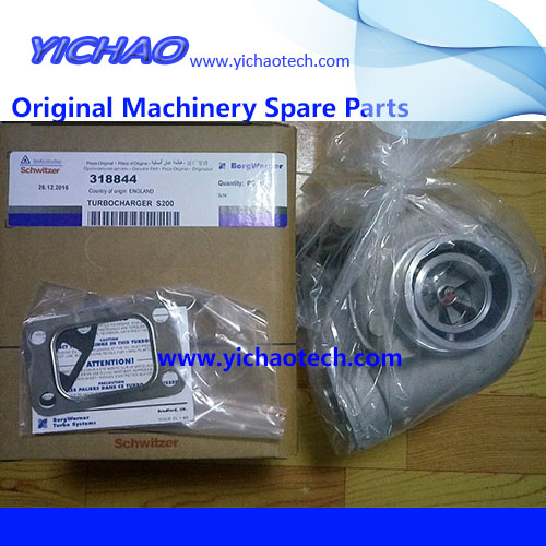 Original Container Equipment Port Machinery Parts Volvo Turbocharger 54103806