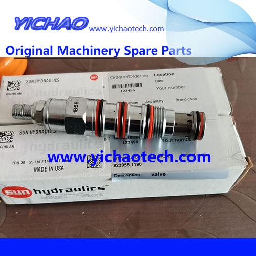 Genuine Container Equipment Port Machinery Parts Valve 923855.1190