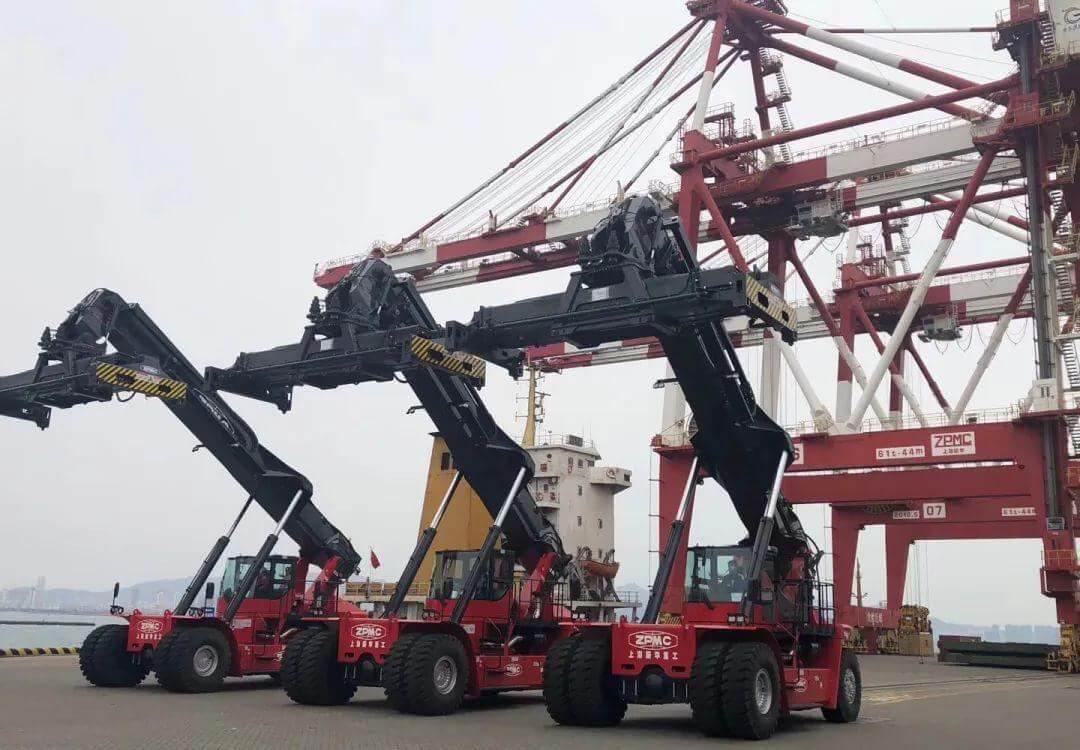 ZPMC Crane Container Reach Stacker Spare parts Suppplier