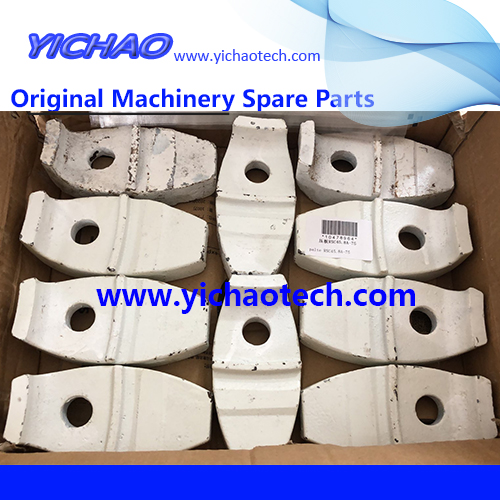 Original Container Equipment Port Machinery Parts Pressing Plate 10478964 for Sany