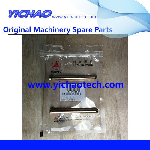 Original Container Equipment Port Machinery Parts Left Pin 12142581 for Sany