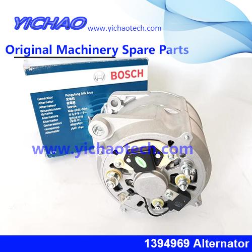 Genuine Container Equipment Port Machinery Parts Scania Alternator 1394969 for Kalmar/Konecranes