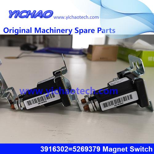Original Container Equipment Port Machinery Parts Cummins Magnet Switch 3916302=5269379