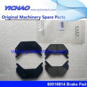 Sany 60016914 Brake Pad