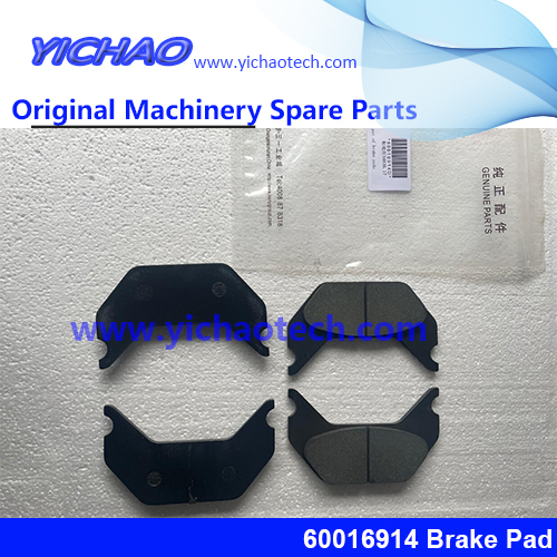 Original Container Equipment Port Machinery Parts Brake Pad 60016914 for Sany