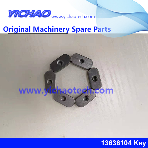 Genuine Sany Container Equipment Port Machinery Parts Key 13636104