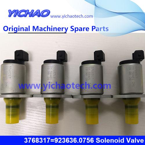 Original Kalmar/Konecranes Container Equipment Port Machinery Parts Parker Solenoid Valve 3768317=923636.0756