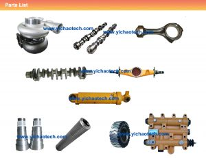 container reach stakcer spare parts supplier