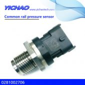 Volvo/Cummins engine spare parts Common rail pressure sensor 0281002706