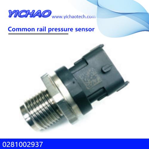 KOMATSU PC200-8/240-8 excavator spare parts Common rail pressure sensor 0281002937