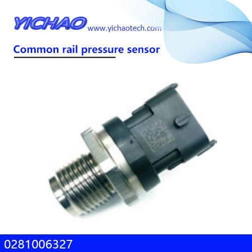 Cummins engine,KOMATSU excavator spare parts Common rail pressure sensor 0281006327