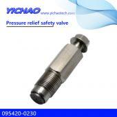 KOMATSU PC400-7 excavator spare parts pressure relifef safety valve 095420-0230