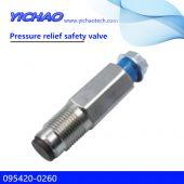 CAPSTAR,PATHFINDER,X-TRAIL,HINO,ISUZU HOLDEN,RODEO/D-MAX,MITSUBISHI L200 spare parts Pressure relief safety valve 095420-0260