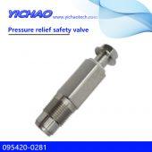 ISUZU HOLDEN,RODEO/DMAX,NISSAN NAVARA,HINO,ISUZU,HOWO,KOBELCO spare parts Pressure relief safety valve 095420-0281