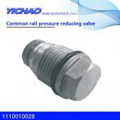 Cummins engine spare parts Common rail pressure reducing valve 1110010028