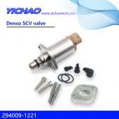 KOBELCO SK210 excavator,J05E-TA spare parts Denso SCV valve 294009-1221
