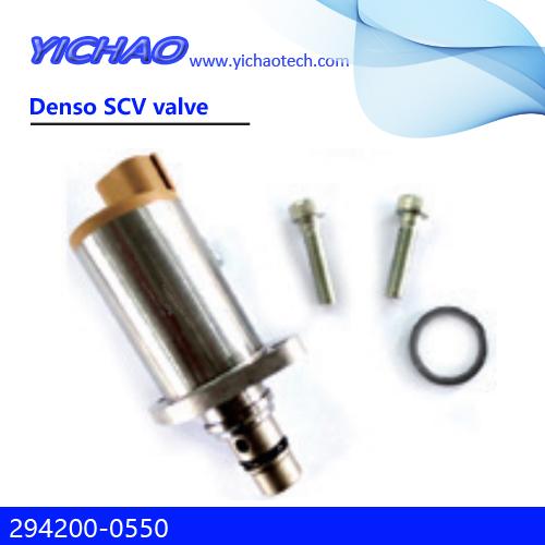KOBELCO SK200-8/J05,HINO excavator parts Denso SCV valve 294200-0550