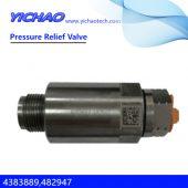 Cummins engine spare parts Pressure Relief Valve 4383889,482947