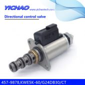 CAT E320B/E320C/E320D excavator parts directional control valve 457-9878,KWE5K-60/G24DB30/CT
