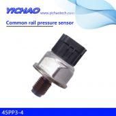 ISUZU,HOWO,HINO,XCMG spare parts common rail pressure sensor 45PP3-4