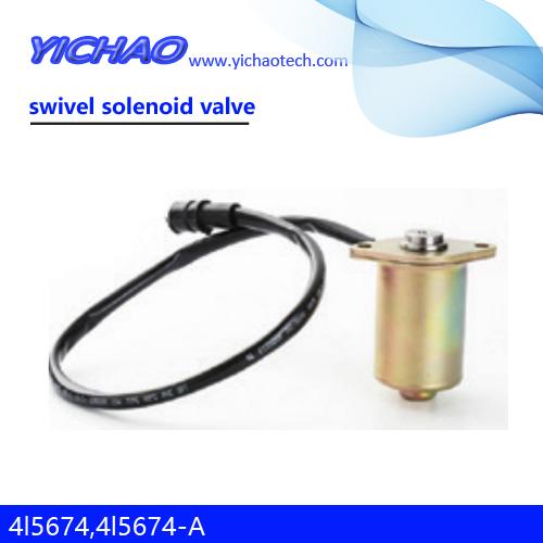 CAT E320/E312/E315/350/375/325/312/315/317/320/320L/325L/330/375L excavator parts swivel solenoid valve 4l5674,4l5674-A