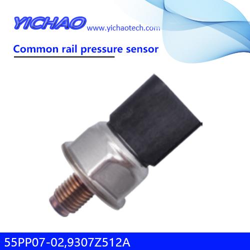 JCB excavator,Hyundai,KIA spare parts Common rail pressure sensor 55PP07-02,9307Z512A