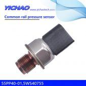 Trolleys, construction machinery, heavy trucks spare parts Common rail pressure sensor 55PP40-01,5WS40755