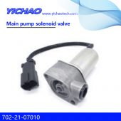KOMATSU PC100-6/120-6/130-6 excavator parts main pump solenoid valve 702-21-07010
