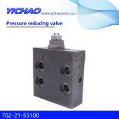 KOMATSU PC130-7/200-6 excavator parts Pressure reducing valve 702-21-55100