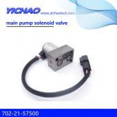 KOMATSU PC200/200-7/220/300/360-7/V25V-299 excavator parts main pump solenoid valve 702-21-57500
